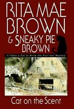 Mrs. Murphy Mystery: Cat on the Scent by Rita Mae Brown (1999, Hardcover)ex-lib