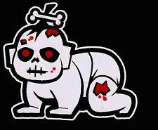 Bloody Zombie Baby Walking Dead Family Vinyl Decal Sticker