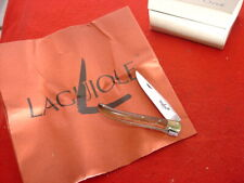 """Laguiole Made in France 2-3/4"""" closed knife & Paperwork MINT"""