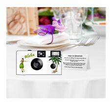 5 Aloha Disposable Cameras Wedding Cameras, Fuji film (F52191)