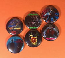 "Return of the Living Dead 1"" Pin Button lot Horror Zombie 80's Classic Cult"