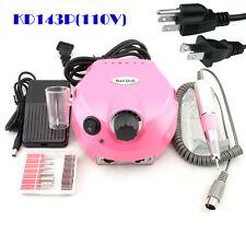 30000 Rpm Professional Pink Electric Nail Drill File Bits Machine Manicure Kit