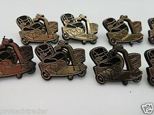 10 Piece Lot Jazzy Chair Rascal Electric Scooter Plastic Hat Lanyard Lapel Pin