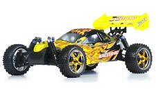 Exceed RC Froza 1/10 Nitro Gas .18 Engine Remote RC RTR Buggy Fire Yellow
