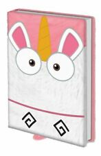Despicable Me Premium Fluffy A5 Note Book Its So Fluffy