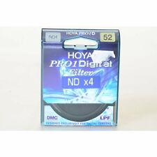 Hoya 52mm Graufilter ND-4 DMC Pro1 / Neutral Grau Filter E-52 / Grayfilter M52