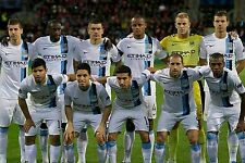 MANCHESTER CITY FOOTBALL TEAM PHOTO>2013-14 SEASON