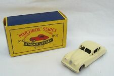 Vintage Moko Lesney Matchbox Series No 32 - Jaguar XK 140 Car & Original Box