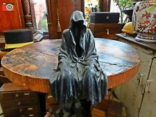 """A DARK & SCARY """"DARKNESS RESIDES"""" HAUNTING FACELESS FIGURE. GRIM REAPER, GOTH"""