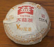 2018 TAETEA Dayi V93 Shu Pu-Erh Tea Ripe Cooked Tuo Cha