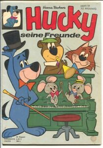 Hucky #19 1963-Hanna-Barbera-Jetsons-Yogi Bear-German edition-VG/FN