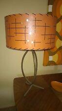 Mid Century Vintage Style Fiberglass Lamp Shade Modern Atomic B/O