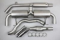 Ligne Inox Clio 3 RS 197 phase 1 Catback 63mm + Catalyseur Sport GT Performance