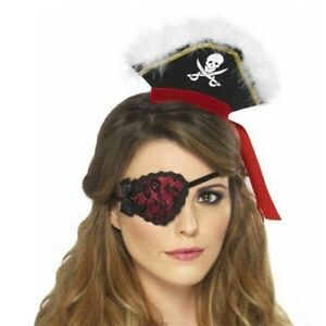 Pirate Eye Patch Pirate eye patch Costume Accessory Adult Halloween