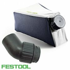 FESTOOL 500393 Chip Collection / Dust Bag + 10015824 Adaptor For TS55 Plunge Saw