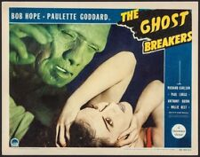 The Ghost Breakers Lobby card   1940   FVF  some minor restoration  11 x 14