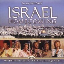 ISRAEL HOMECOMING CD BY  BILL & GLORIA GAITHER, HOMECOMING FRIENDS BRAND NEW