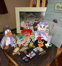 Disney Rescuers Mcd viewers w/U3 & ornaments, bean bags, Down Under bendables