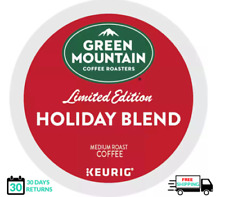 Green Mountain Holiday Blend Keurig Coffee 18 Count k-cups