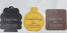 3x Car Air Freshners Creed of Friday, Woody Oud, Leather Oud By Scent Salim