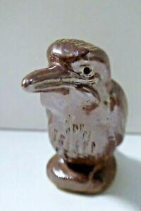 KOOKABURRA STATUE FIGURINE ART AUSTRALIAN POTTERY BENDIGO