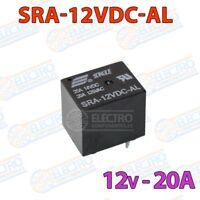 Rele 12v 20A SPST - SRA-12VDC-AL - Arduino Electronica DIY