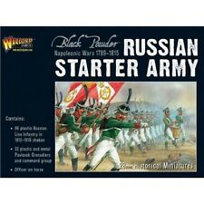 RUSSIAN STARTER ARMY-WARLORD GAMES - BLACK POWDER - SENT 1ST CLASS