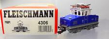 Fleischmann 4306; Unbespielte Zahnrad-Ellok  BR E 69 ELB,  DSS, blau, OVP /P633