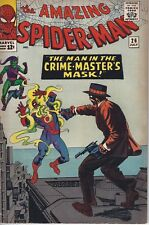 Amazing Spider-Man #26 1st Crime Master Graded 5.5 FINE Holo#611