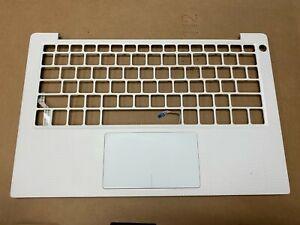 Genuine Dell XPS 9370 9380 Upper Case Palmrest Touchpad White 52FJR 052FJR B
