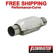 "2"" Flowmaster Universal Catalytic Converter High Flow Stainless - 2220120"