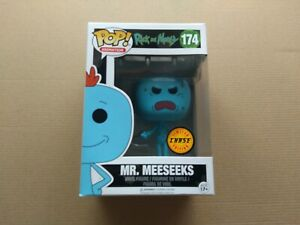 Funko Pop Mr.Meeseeks Chase Rick and Morty