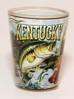 KENTUCKY STATE MURAL SHOT GLASS SHOTGLASS