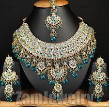 Indian Wedding Traditional Ethnic Jodha Akbar Jewelry Bollywood Necklace Set E03