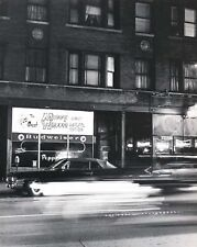 Peppers Lounge 43rd Street Chicago - 8x10 B&W Photo