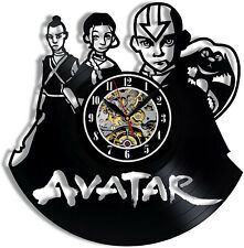 Avatar The Last Airbender Vinyl Wall Clock Record Gift Decor Sign Feast Day Art