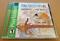 Final Fantasy 1 & 2 Origins - Sony PlayStation 1 PS1 - COMPLETE w/ Nice Disc!