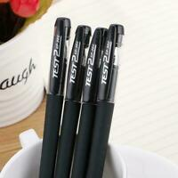 Black Gel Pen Full Matte Water Pen Writing Stationery Office Quality G4E9