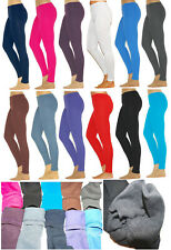 Hose Kinder Thermo Leggings Fleece Leggins lang Futter Gamaschen