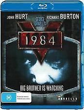 1984 BLU RAY - NEW & SEALED RICHARD BURTON, JOHN HURT, GEORGE ORWELL,BIG BROTHER