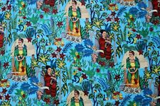 By Yard Indian fabric Cotton Fabric ,Summer Dresses in Floral Design Print,Boho