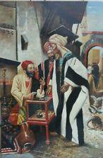 "Hand Painted Art Oil on Canvas 24"" x 36"" Arabia"