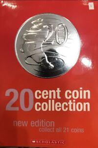 20 cent coin set 21 coins