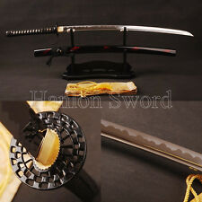 Hand Forged Japanese Samurai Sword  Katana 1095 Steel Blade Full Tang Sharp Edge