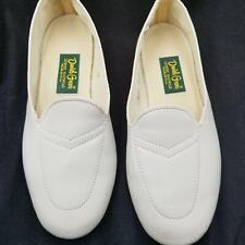 Daniel Green Womens Shoes SZ 7 Beige Wedge Leisure Slippers Vintage Retro