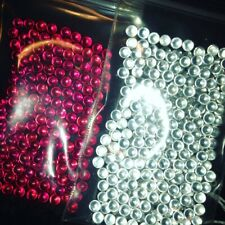 2x 4mm ruby gems lab cultured Peak pearls beads quartz sic Carta Switch Oura