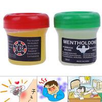 Pommade à l'huile de camphre menthe pour soulager la douleur