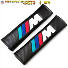 2pcs Carbon Fiber Seat Belt Cover Pads Shoulder Cushion For BMW M Series