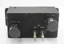 EE Canberra Radio VHF & ILS Vol Adjustment Box EA9.82.413 RAF Vintage Aircraft