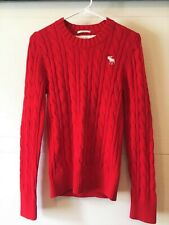 Abercrombie Fitch Long-Sleeve Icon sweater Small New with Tag